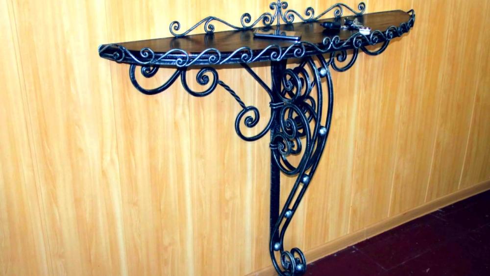 кованая мебель для прихожей (главный ключ)
