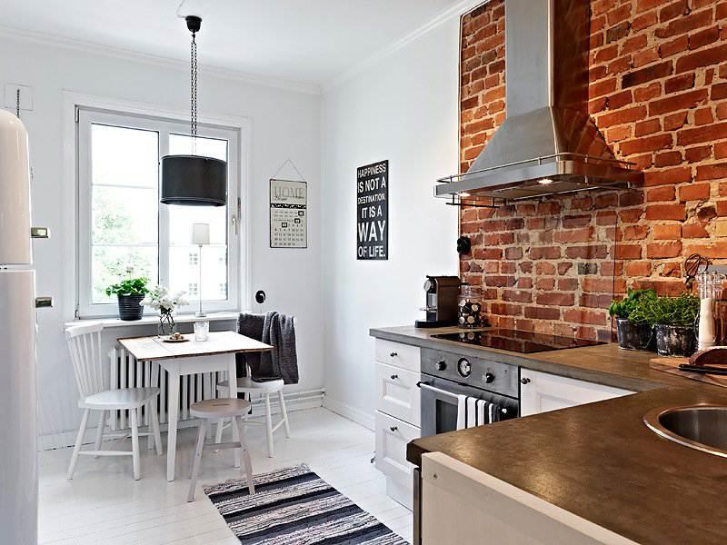 отделка стен на кухне варианты