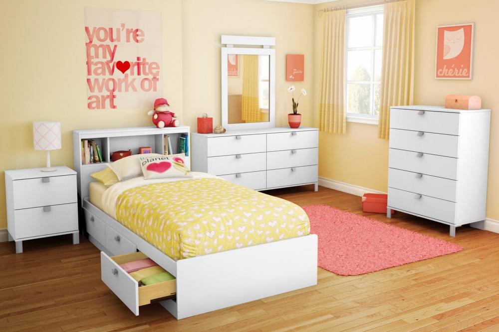 Детские спальни для девочек-подростков