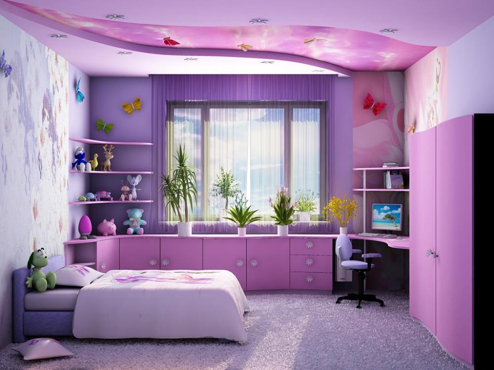 Как украсить комнату девочки-подростка своими руками