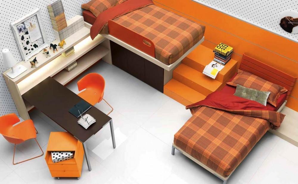 Дизайн детской комнаты для двух мальчиков: ищем подходящее решение