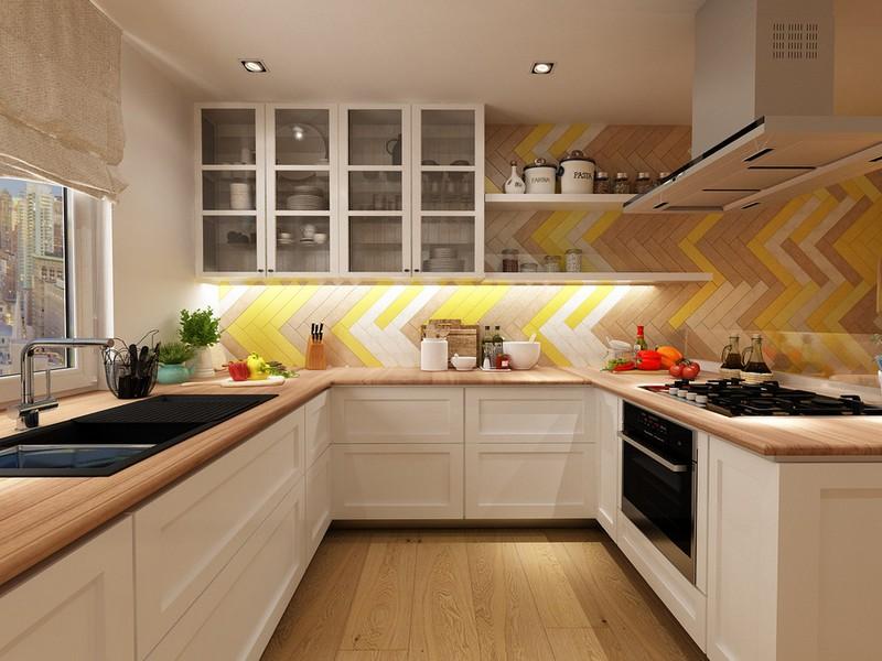 Светлая кухня: как ее обустроить   Ремонт и дизайн кухни своими руками