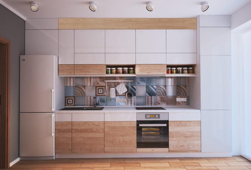 Дизайн кухни 9 кв м, 55 фото интерьера, удобная планировка кухни в 9м²