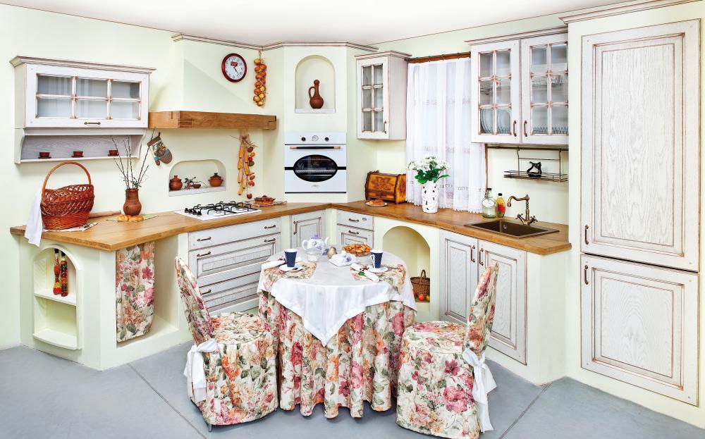Светлая кухня в классическом стиле. Особенности оформления: Как ...