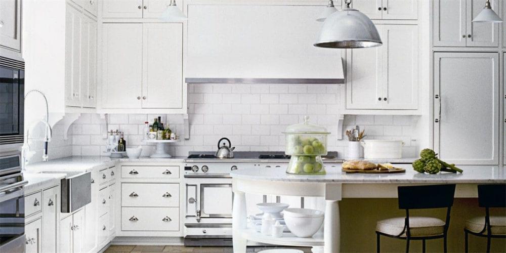Белая кухня: 115 идей оформления – Roomble.com
