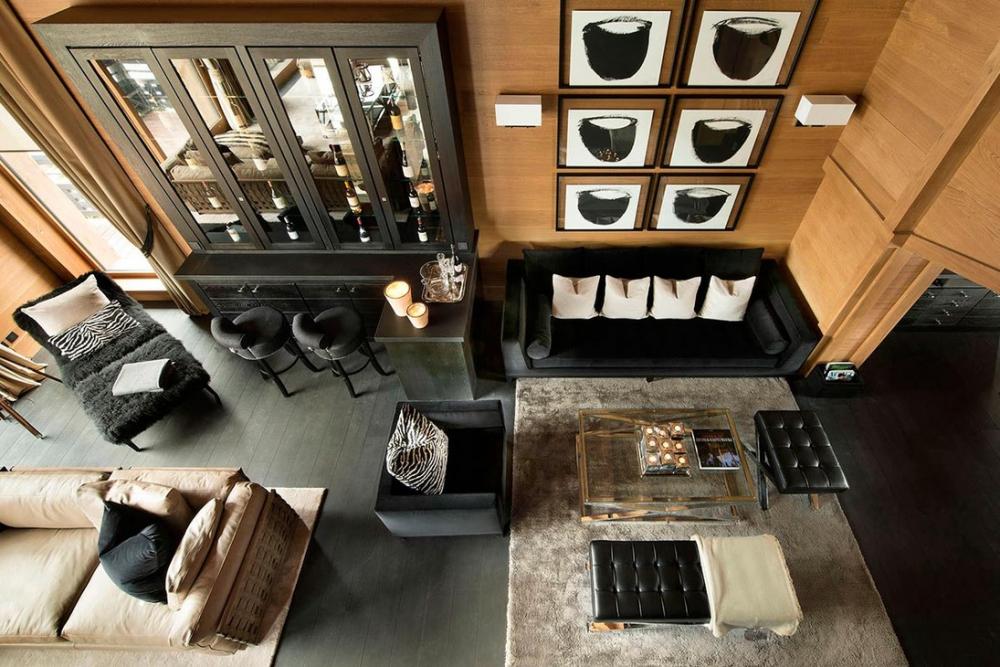 Мужской интерьер: серьезный подход к оформлению жилой комнаты
