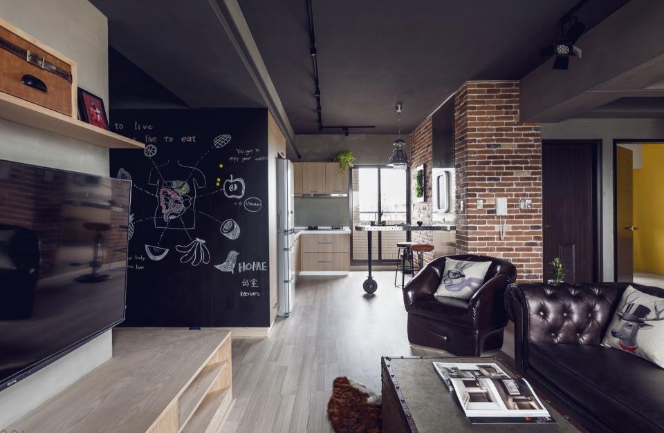 дизайн мужской комнаты (главный ключ)