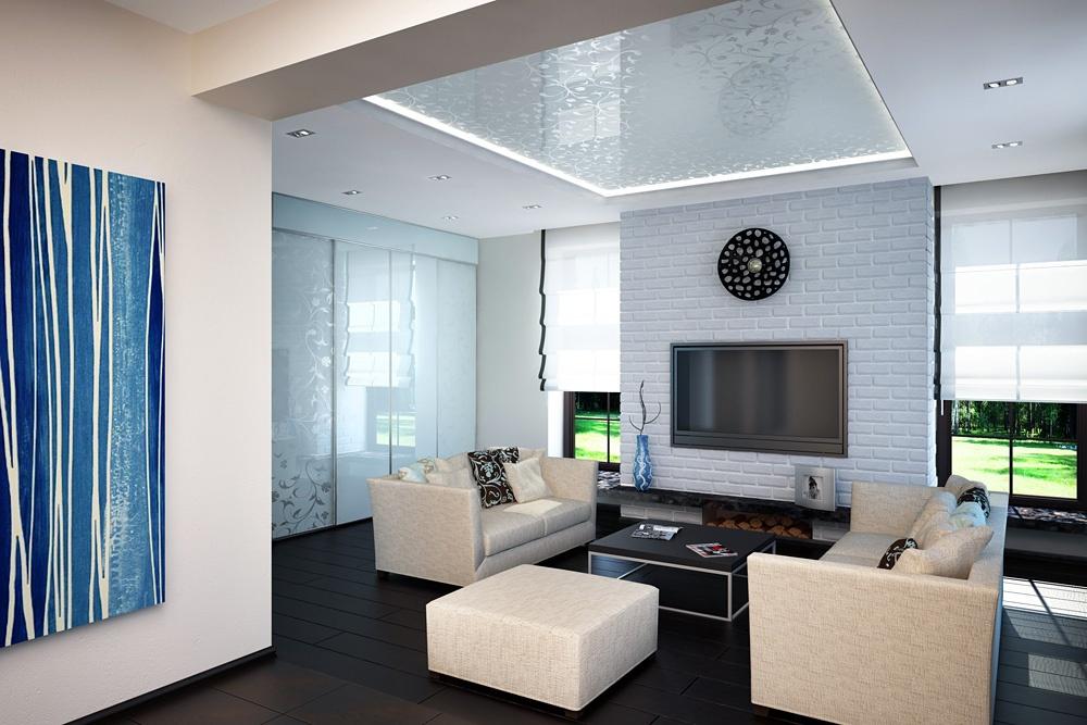 оформить гостиную комнату