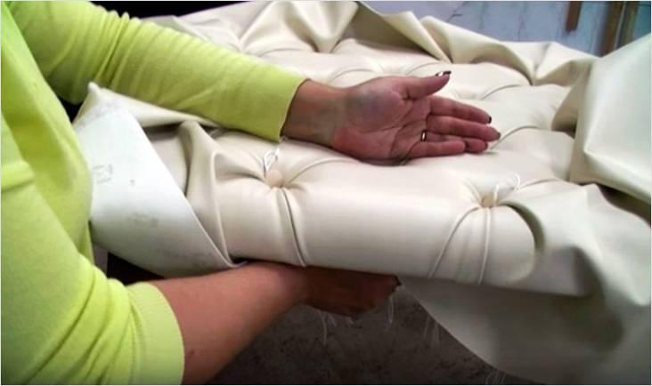 пуговицы для каретной стяжки своими руками