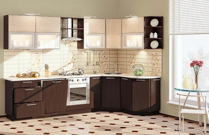 Кухни из ДСП и ЛДСП: выбор фасадов для гарнитура
