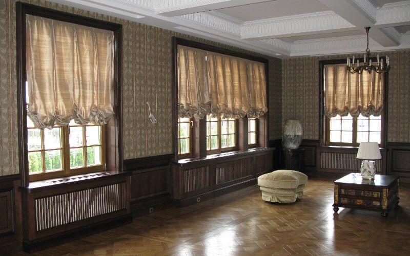 Окна из дуба - купить, заказать дубовые окна в Москве и Санкт-Петербурге