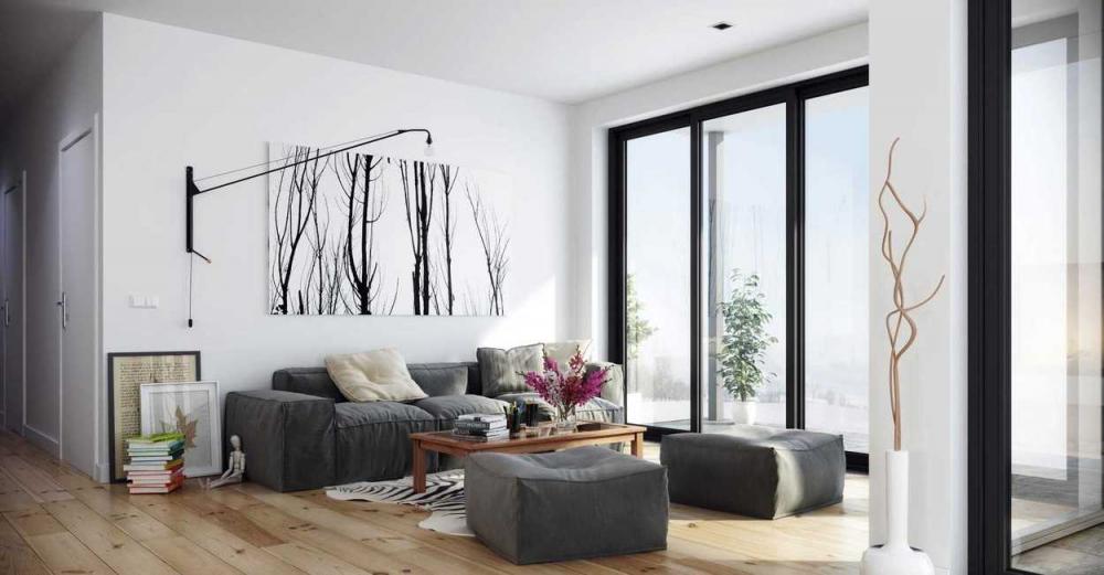 Темные пластиковые окна в интерьере жилища - Пластиковые окна от ...