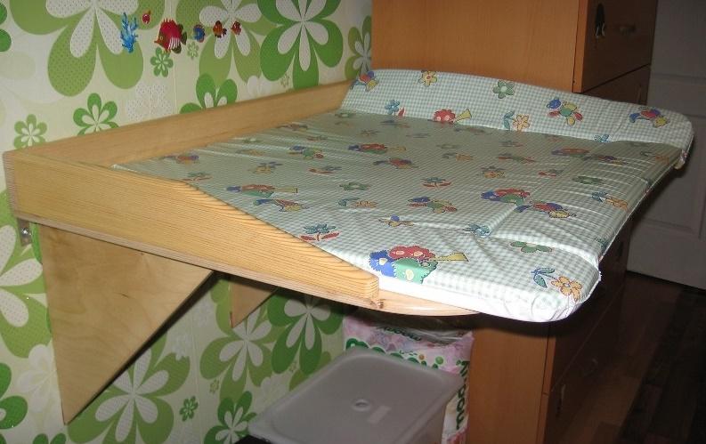 пеленальный столик своими руками (главный ключ)