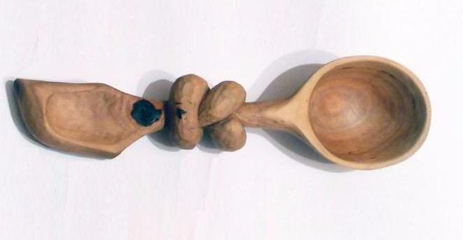 ложка из грушевой древесины