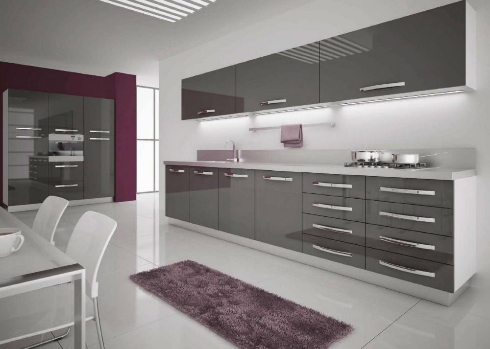 Акриловые фасады для кухни (36 фото): инструкция по установке ...