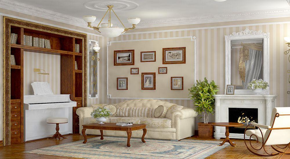 Английский стиль в интерьере квартиры, особенности дизайна и фото