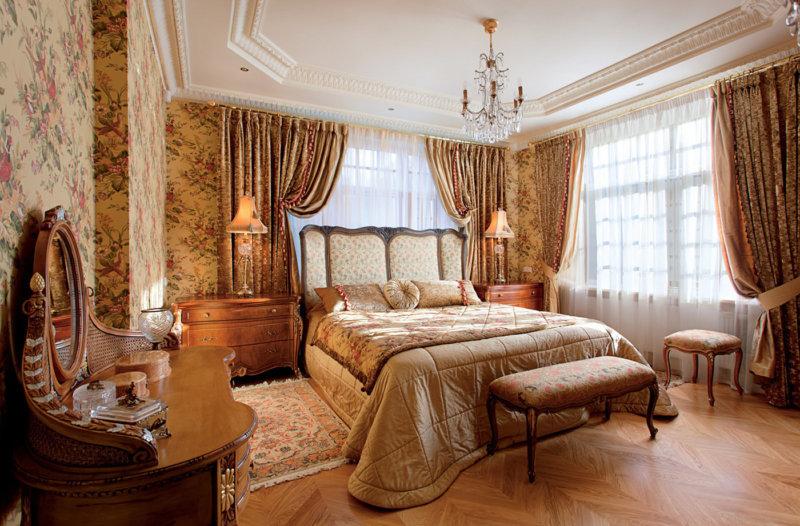 Спальня в английском стиле 100 фото красивого и уютного дизайна