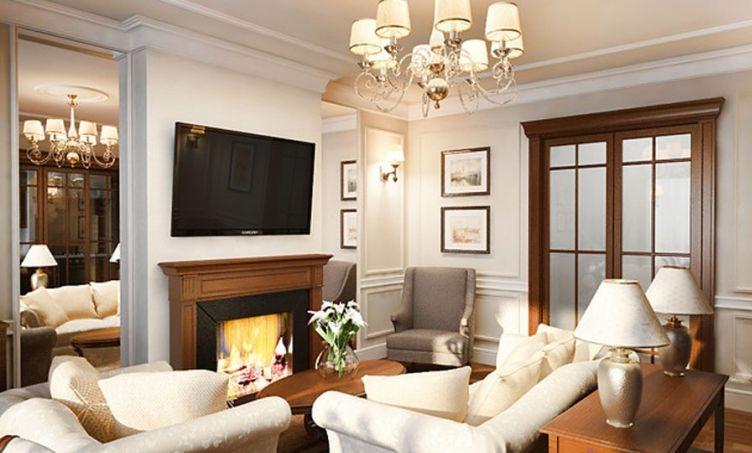 Квартира в английском стиле от `Модный дом` | Фото ремонта.ру - Фото ...