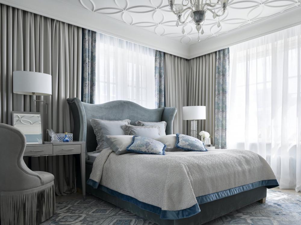 Спальня в английском стиле — отделка, цвет, мебель, текстиль
