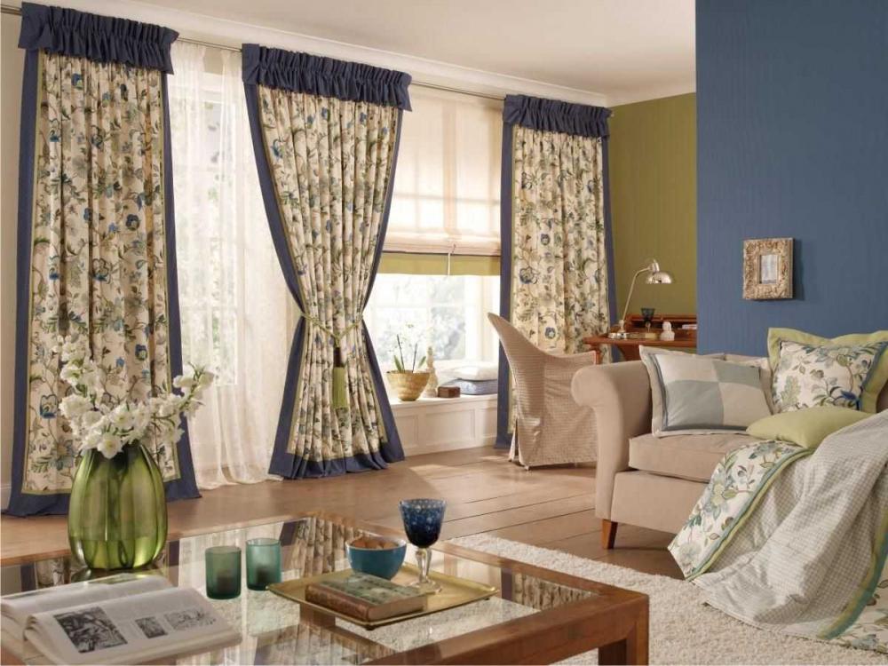 Портьеры для гостиной (50 фото): стильные портьеры в зал ...