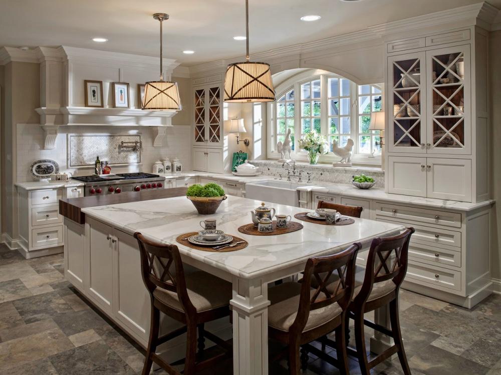 Дизайн кухни в английском стиле — основные черты стиля (+45 фото)