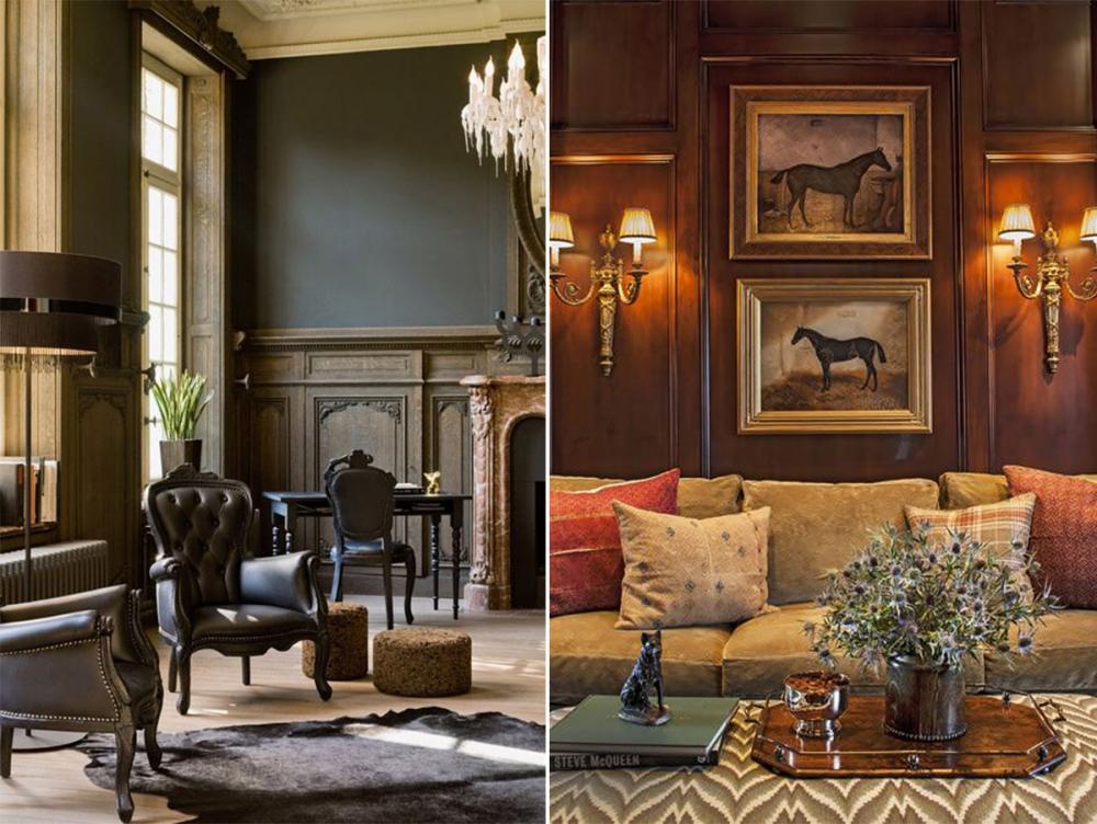 Английский стиль в интерьере - фото дизайна интерьера в современном ...