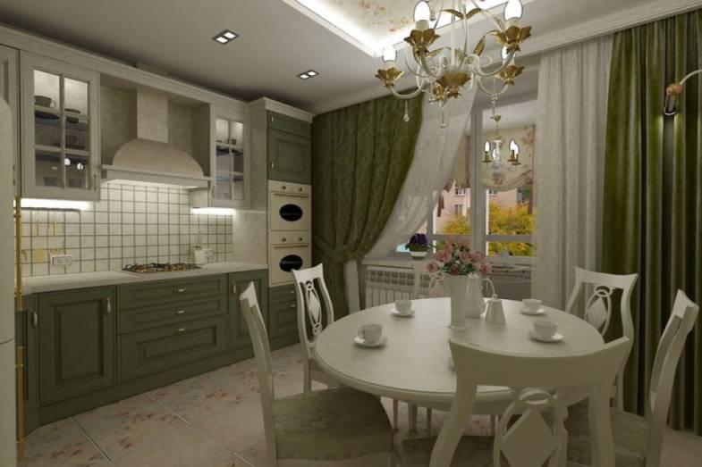 Дизайн кухни в английском стиле | ИнноваСтрой