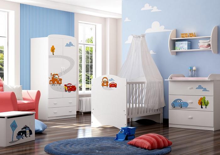 комната для двух мальчиков разного возраста