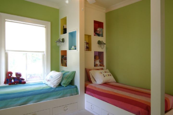 детская комната для двух детей