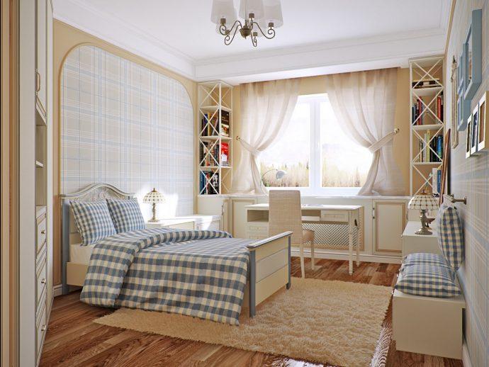 детская комната в стиле прованс для девочек