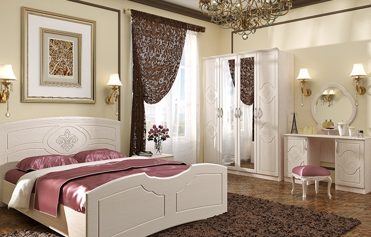 Спальня Лилия BTS