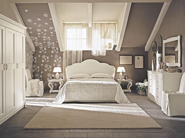 дизайн комнаты для девушки в современном стиле (главный ключ)