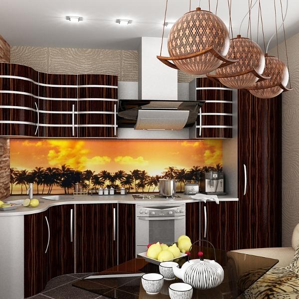 Кухня цвета венге: 50 фото идей дизайна интерьера, идеальные ...
