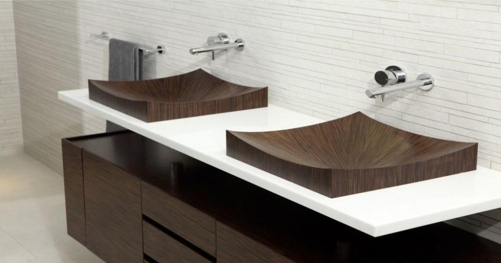 двойная раковина для ванной (главный ключ)