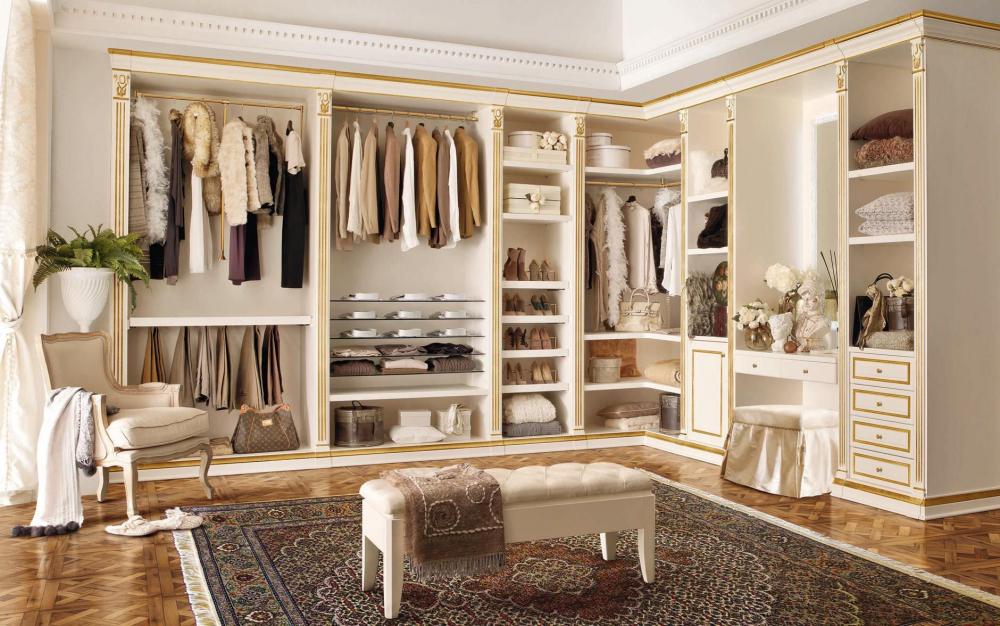 гардеробные комнаты маленьких размеров