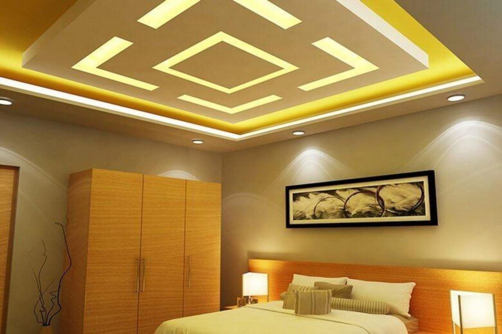потолок из гипсокартона (главный ключ)