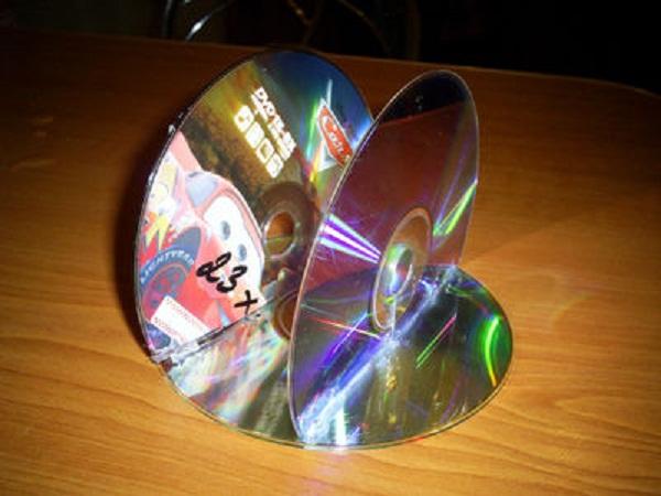 поделки из компьютерных дисков