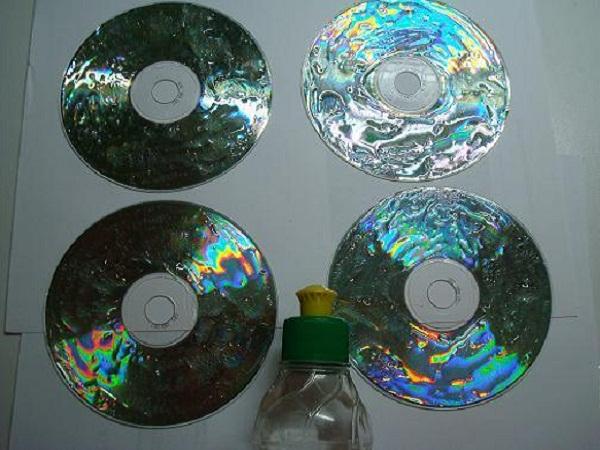 поделки из дисков своими руками
