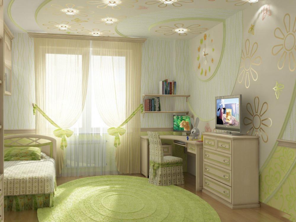как оформить детскую комнату для девочки (главный ключ)