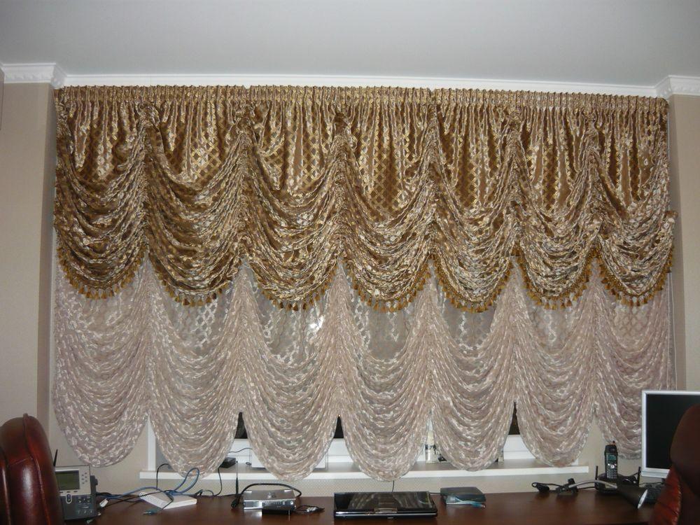 как правильно подшить шторы