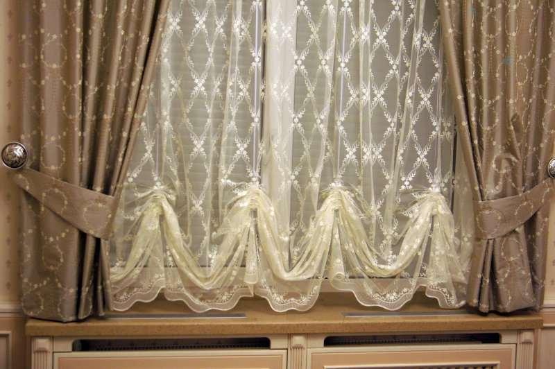 правильно подшить шторы и тюль