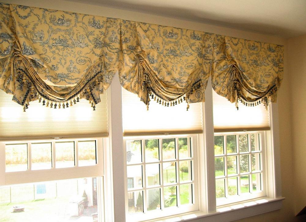 как укоротить шторы не обрезая