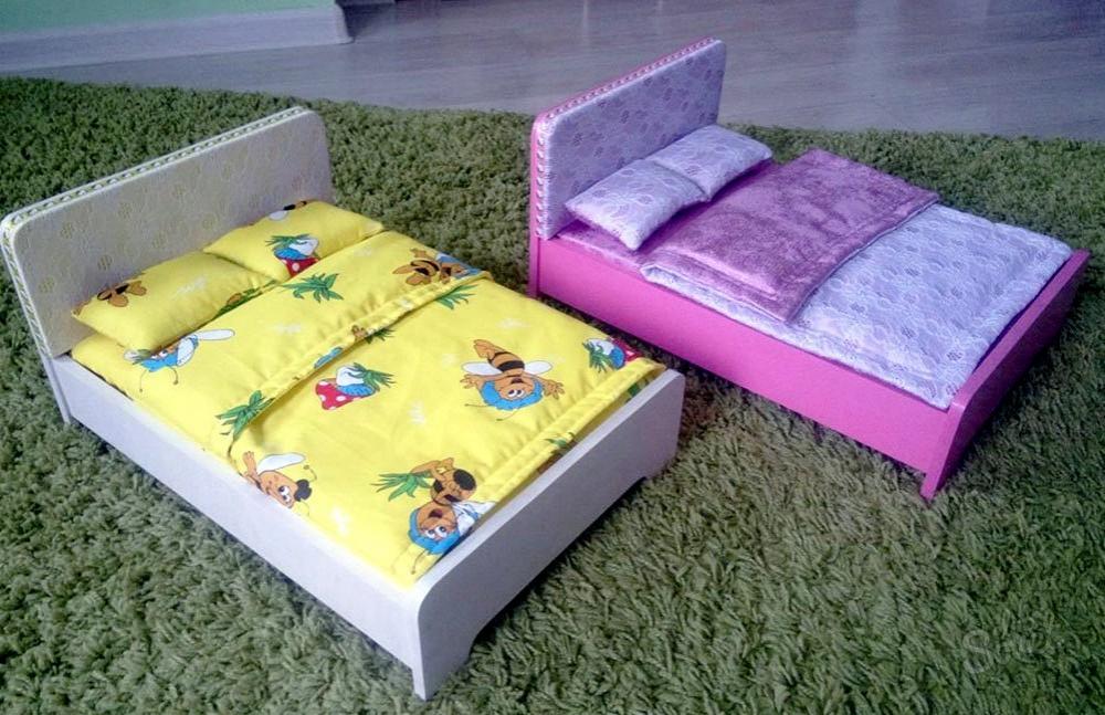мебель для кукол своими руками из картона
