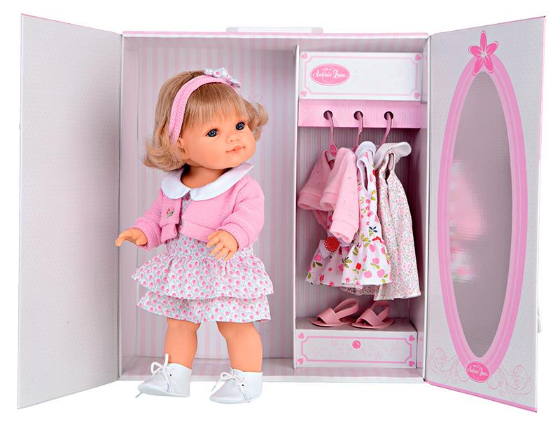 сделать шкаф для кукол своими руками