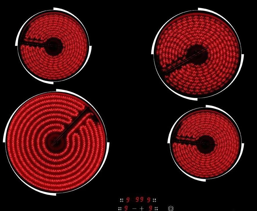 керамическая электроплита для кухни