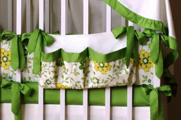 органайзер на детскую кроватку своими руками