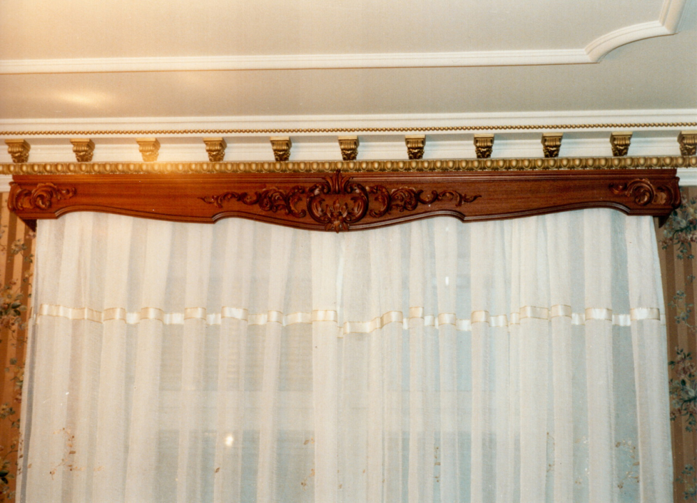 карниз потолочный под натяжной потолок (главный ключ)