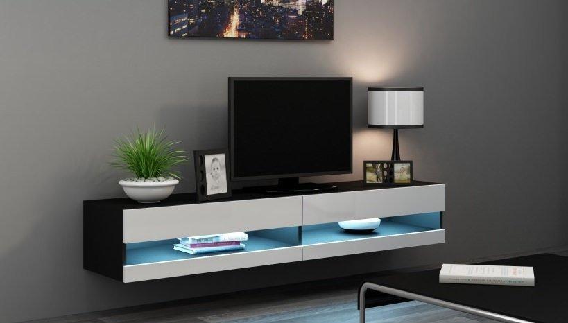 Навесная тумба под телевизор Vigo New, купить - RoomiCo