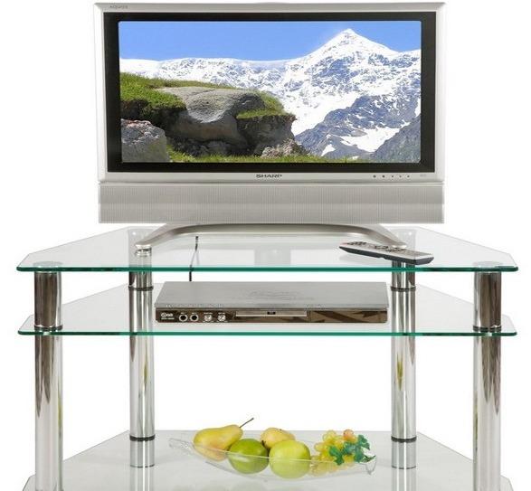Стеклянные тумбы | Тумбочки под телевизор из стекла, столы и тумбы ...