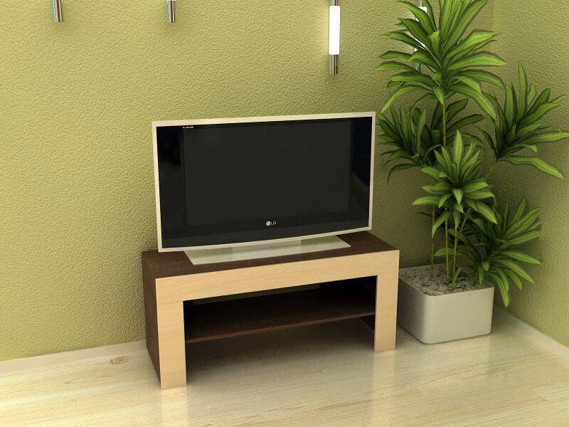 Узкая тумба под телевизор - моделей, размеры | Фото